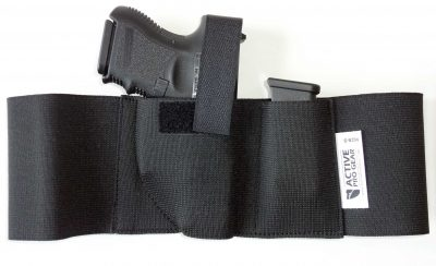 IWB tuckable belly band gun holster sig p365 glock g43 g26 g19 smith & wesson shield