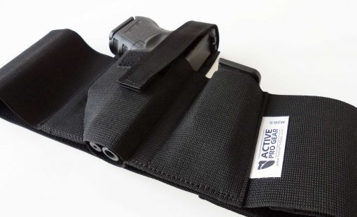 belly band concealed carry gun holster IWB tuckable belly band gun holster sig p365 glock g43 g26 g19 smith & wesson shield