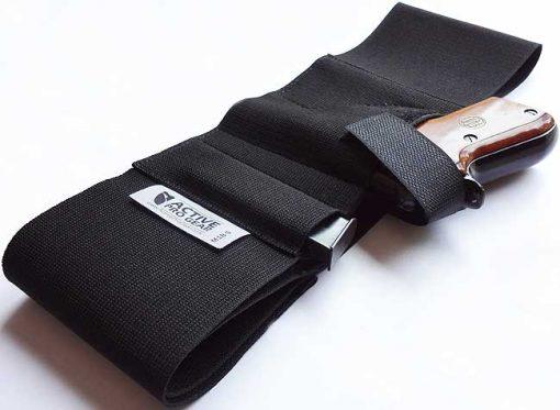 Defender Belly Band Concealment Holster Model M1B Top