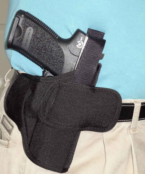 OWB Belt Gun Holster Concealed Carry Glock 19 43 Sig P365 Smith Wesson Shield
