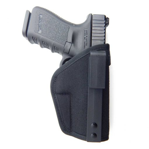 gun-holster-tuckable-iwb-concealed-carry-belt-clip-pistol-revolver-glock-sig-ruger-smith-wesson-