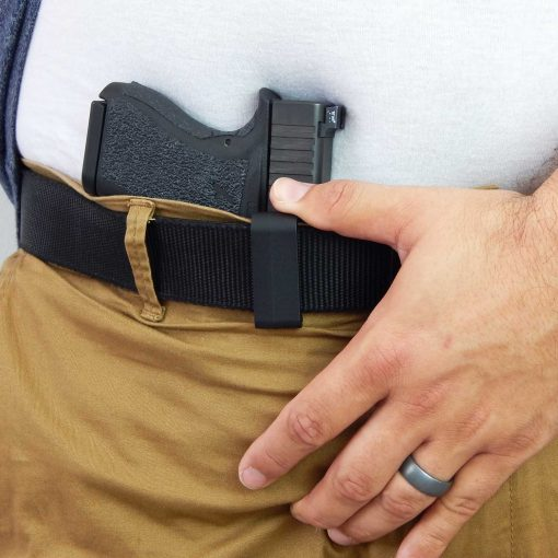 IWB Appendix Gun Holster Belt Clip Concealed Carry Glock 43 Sig P365 Smith Wesson Shield