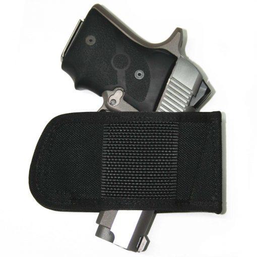 OWB Belt Slide Gun Holster Concealed Carry Glock 19 43 26 Sig P365 Smith Wesson Shield