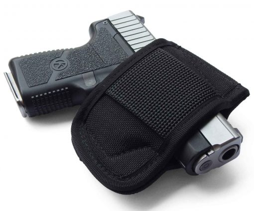 OWB Belt Slide Gun Holster Concealed Carry Glock 19 43 26 Sig P365 Smith Wesson Shield