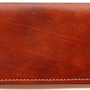 Model M21 Leather Checkbook Cover