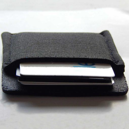 Model 1 Hybrid Minimalist Leather/Elastic Wallet