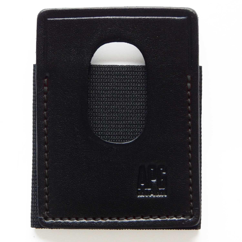 Model 1 Hybrid Minimalist Leather/Elastic Wallet