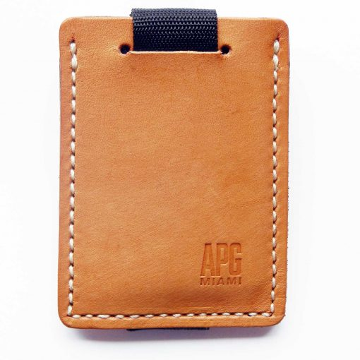 Model 4 Minimalist Leather Wallet with Pull Tab