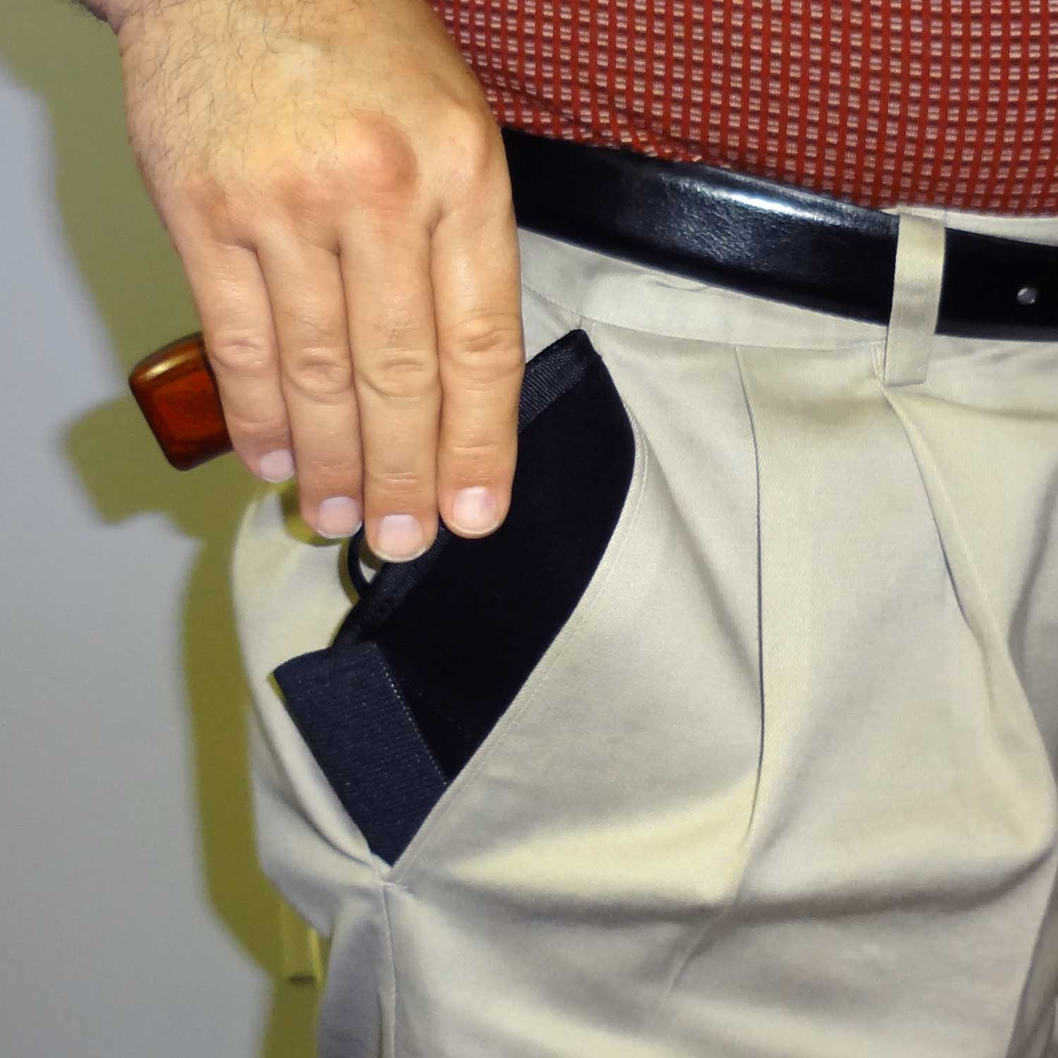 Model 64RA Concealment Pocket Holster with Extra Ammo