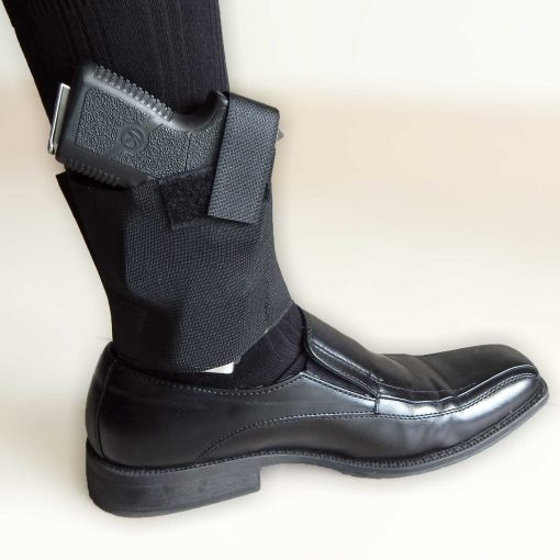 Ankle Gun Holster Concealed Carry Conceal Boot Leg 380 Smith Wesson Shield Bodyguard Ruger LCP Glock 43 Sig P365