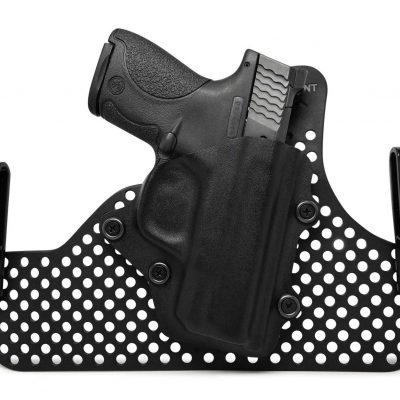 Hybrid Tuckable Dual Belt Clip IWB Kydex Concealment Holster