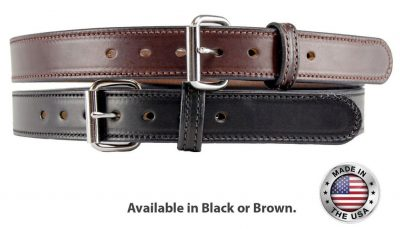 R17 Leather Gun Belt-1