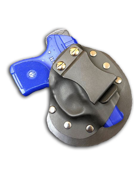 R20 Single Clip IWB Hybrid Kydex Leather Holster
