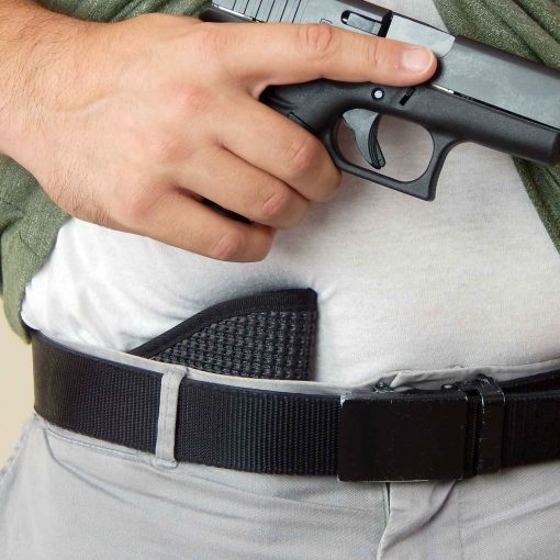 IWB pocket concealed carry gun holster sig p365 glock g43 g26 g19 smith & wesson shield