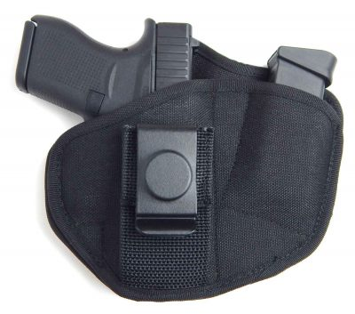 Model 73 IWB Tuckable Appendix Carry Gun Holster with Spare Magazine