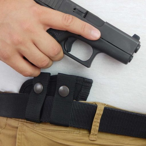 IWB Belt Loops Concealed Carry Gun Holster Glock 19 43 Sig P365 Smith Wesson Shield
