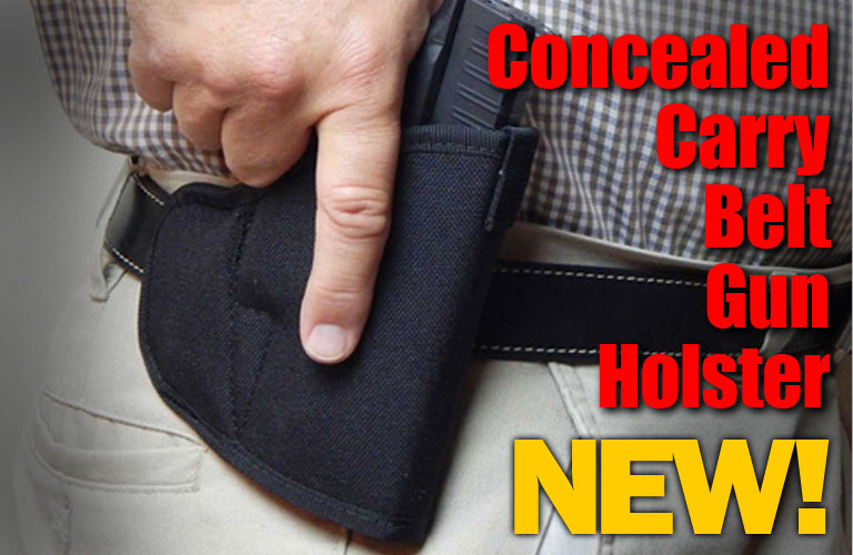 Concealed Carry Belt Gun Holster